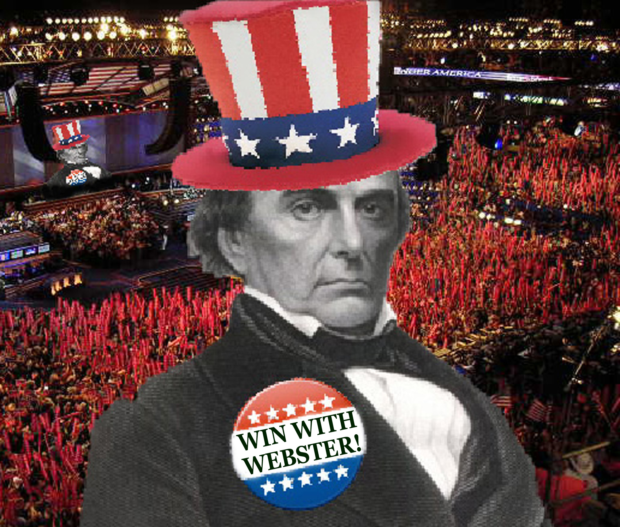 The political contributions of daniel webster in the united states