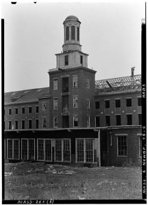 Globe Steam Mills, photograph from Library of Congress Prints and Photographic Division.