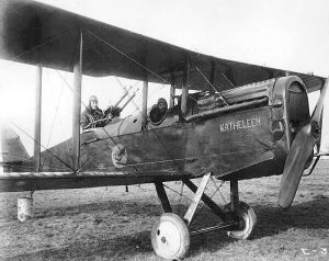 "278th Aero Squadron - Dayton Wright DH-4 ""Katheleen"". From Wikipedia."