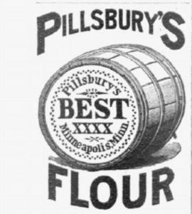1891 Pillsburys Flour