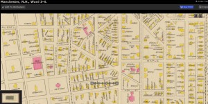 1892 Map of Manchester, Wards 3 and 4, David Rumsey Map, DPLA