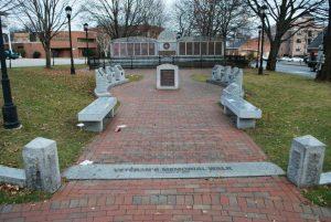 Deschenes Oval at Railroad Square, Nashua NH. Photograph courtesy of John R. Bolduc, Nashua NH native.
