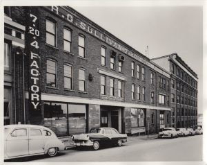 R.G. Sullivan Cigar Co. Building, West Central Street c1961.