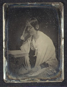 Daguerreotype of Margaret Fuller (Marchioness Ossoli) Southworth and Hawes (American, active 1843–1863); Gift of I. N. Phelps Stokes, Edward S. Hawes, Alice Mary Hawes, and Marion Augusta Hawes, 1937; Metropolitan Museum of Art at http://metmuseum.org