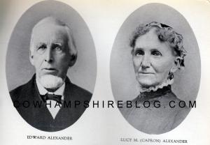 Edward & Lucy (Capron) Alexander