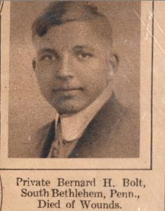BOLT Bernard S Bethlehem PA