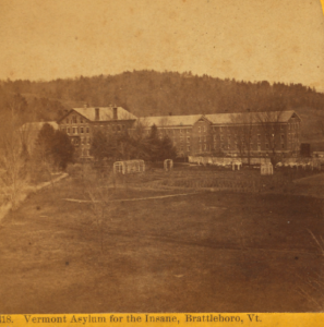 Photograph: Brattleboro Insane Asylum, Brattleboro Vermont; The New York  Public Library Digital Collections; Robert N. Dennis collection of steroscopic views