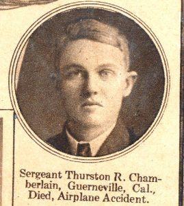 CHAMBERLAIN Thurston Guerneville CA