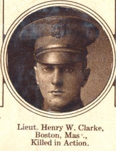 CLARKE Henry Boston MA