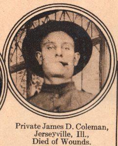 COLEMAN James Jerseyville IL