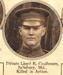 COULBOURN Lloyd Salisbury MD