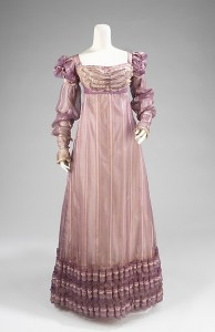 1820 American silk ball gown; Brooklyn Museum Costume Collection at The Metropolitan Museum of Art, Gift of the Brooklyn Museum, 2009, Brooklyn Museum Collection