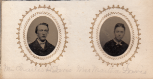 Charles H Davis and wife Martha Davis