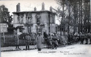 French soldiers at Chateau Thierry.
