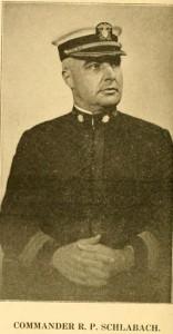 Commander R P Schlabach
