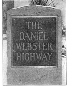 Daniel Webster monument side 1