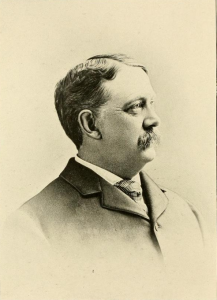 Dr. Charles B. Hammond of Nashua NH.  Likeness from Likeness from History of the city of Nashua, N. H. by Edward Everett Parker, 1897