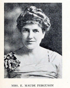 Photograph of E. Maude Ferguson from May 1926 issue of Granite State Monthly