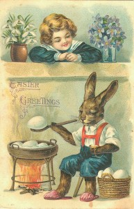 Easter old card