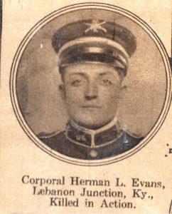 EVANS Herman Lebanon Junction KY
