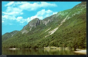 Eagle Cliff near Profile Lake, Franconia, New Hampshire
