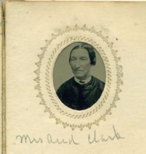 Elizabeth (Perkins) Clark, wife of Reed P. Clark of Londonderry NH