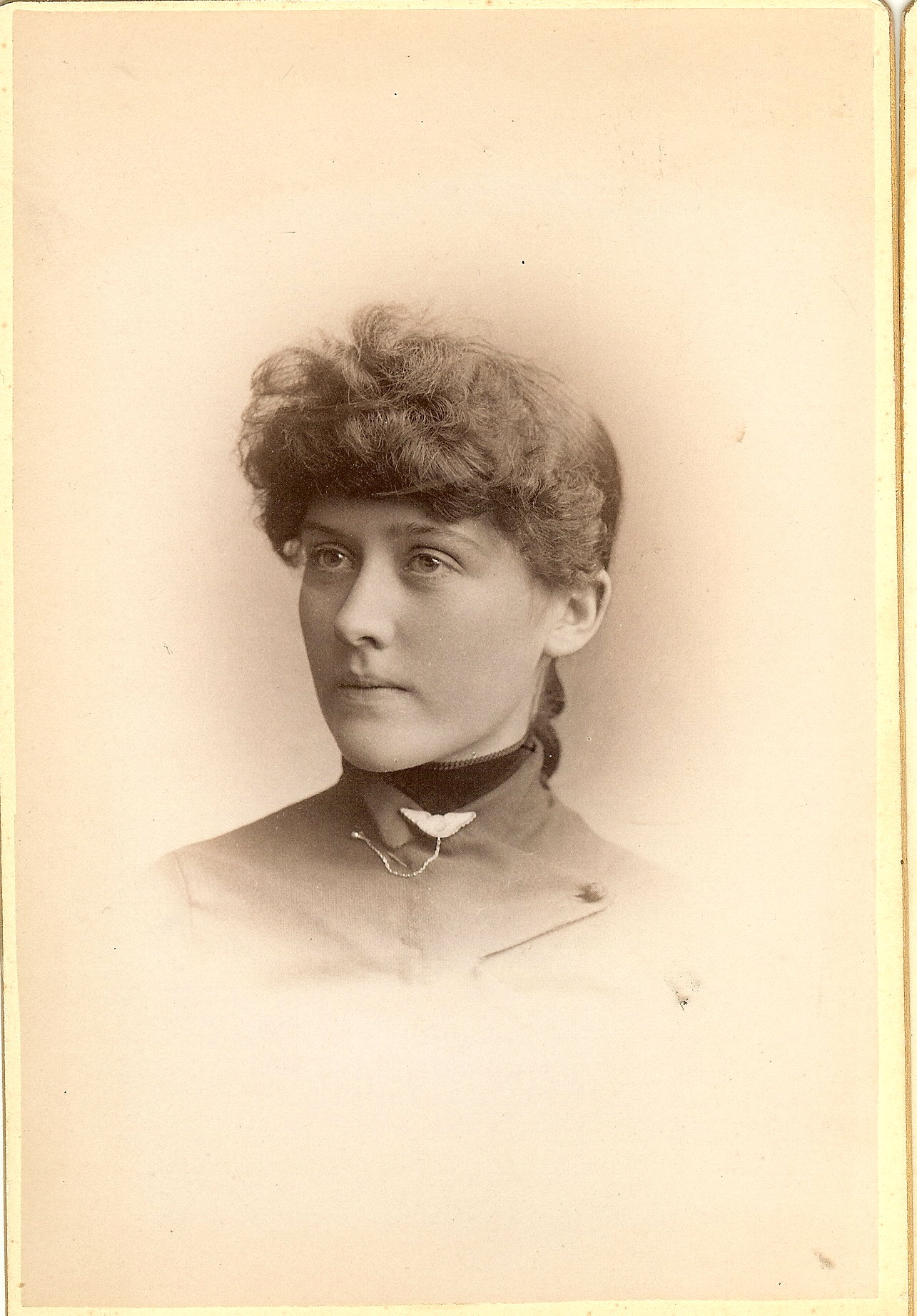 Emma A. Putney, graduate of 1888 Manchester High School (NH); Blog Cow Hampshire