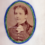 Fanny Runnels as a young girl.