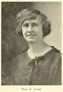 Photograph of Elena Crough from the February 1924 Granite State Monthly