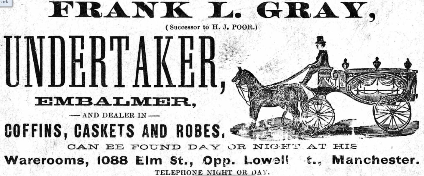 Frank L Gray Undertaker