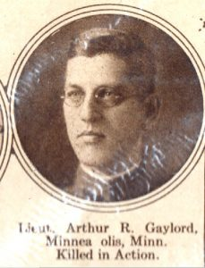 GAYLORD Arthur Minneapolis MN