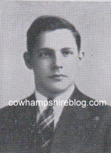 1941 Central High School Class Photograph of George Metalious.