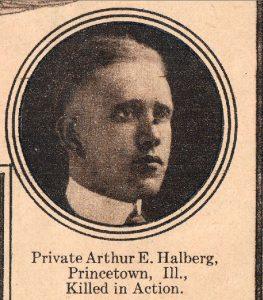 HALBERG Arthur E Princetown IL