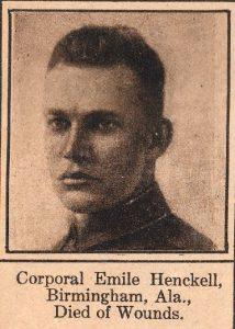 HENCKELL Emile Birmingham Ala