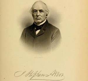J. Stephens Abbott. Likeness from History of Merrimack and Belknap Counties NH, page 143
