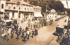1919 Funeral procession for Joseph Guyette.