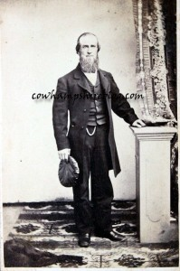 Joseph J. Wyman (1829-1897) son of Reuben & Rhoda. Cartes De Visite, Photographed by B. Carr., No. 114 Main Street, Concord, N.H.