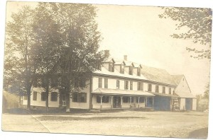 1909 postcard of an old Lempster New Hampshire building.