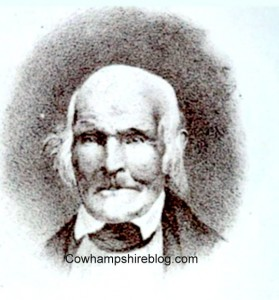A likeness of Abel Hutchins, from his autobiography