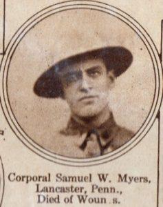 MEYERS Samuel Lancaster PA