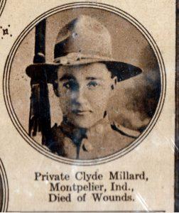 MILLARD Clyde Montpelier IND