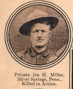MILLER Ira H Silver Springs PA