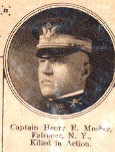 MOSHER Henry Falconer NY