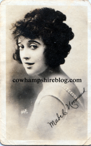 Mabel Normand, Lew Cody's second wife. They married in 1923 and she died in 1930 of tuberculosis, having been ill from about 1927.