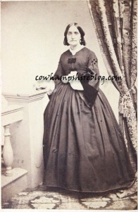 Jane Rich (Clark) Wyman [Mrs. Joseph] (1830-1920); Cartes De Visite, Photographed by B. Carr., No. 114 Main Street, Concord, N.H.