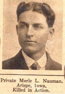 NAUMAN Merle Arispe Iowa