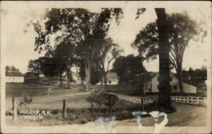 Old postcard of North Weare, NH