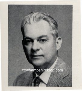 1955 photograph of Omer Lassonde from NHN.