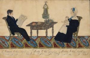 Painting by Joseph H. Davis found in the Metropolitan Museum of Art.