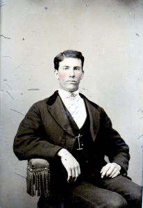 Oscar David Brown, son of David & Hannah D. (Fox) Brown of Sanbornton NH